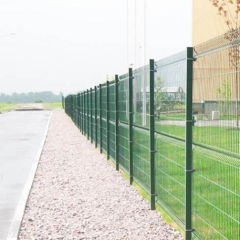 Забор из сварной сетки 3D