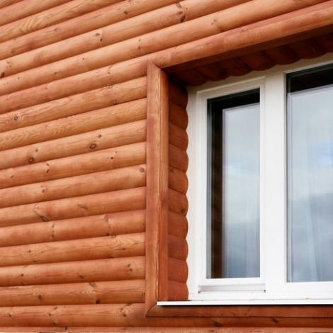 Услуги обшивки дома блок-хаусом в Саратове