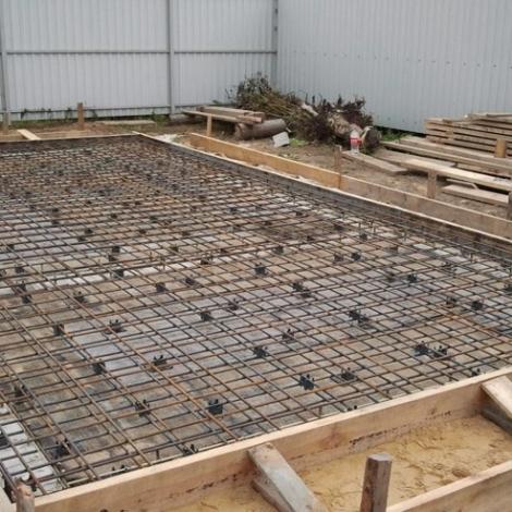 Услуги строительства фундамента под гараж в Саратове
