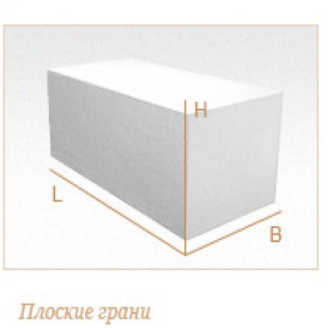 Стеновые газобетонные блоки D350