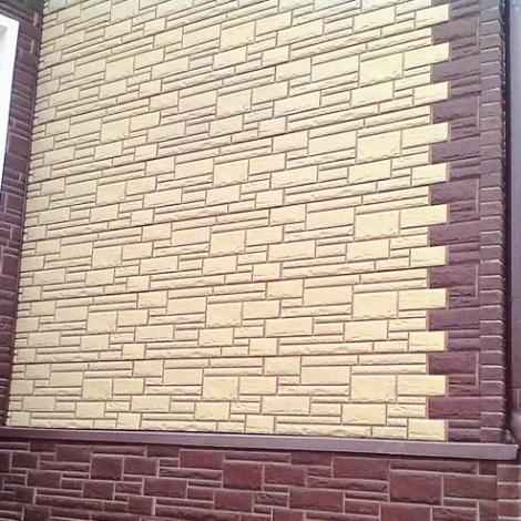 Услуги монтажа облицовки цокольными панелями дома в Саратове