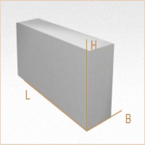 Перегородочный газобетонный блок D400