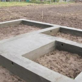 Услуги по строительству фундамент под баню