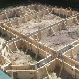 Услуги строительства фундамента под ключ в Саратове