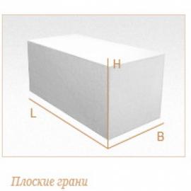 Стеновые газобетонные блоки D400