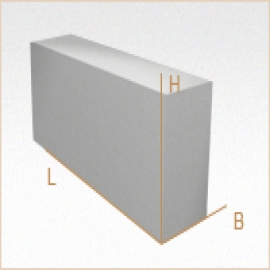 Перегородочные блоки из газобетона D600